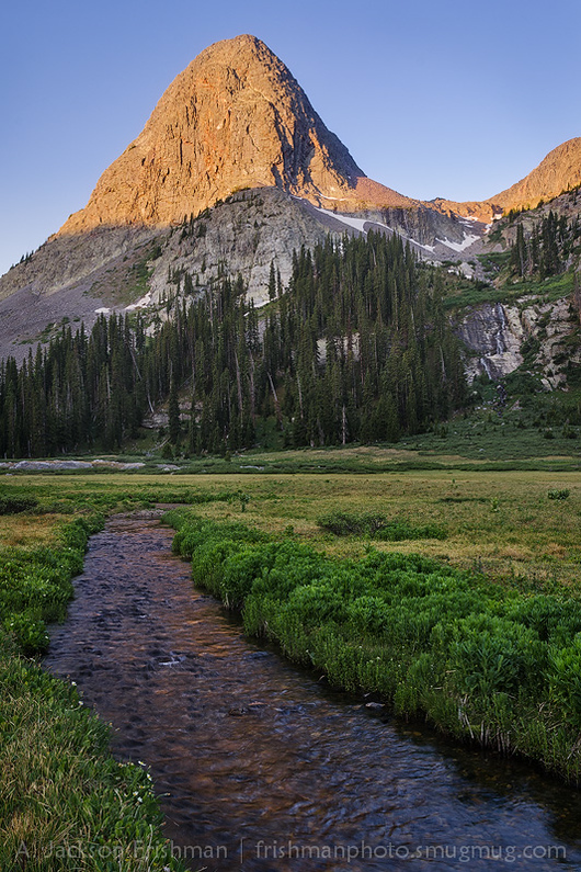 Sunrise on Buffalo Peak, Weminuche Wilderness, San Juan Mountains, Colorado